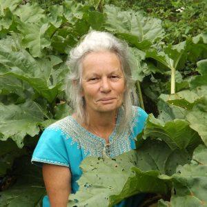 Nadine Dubon au jardins d'Esmenote